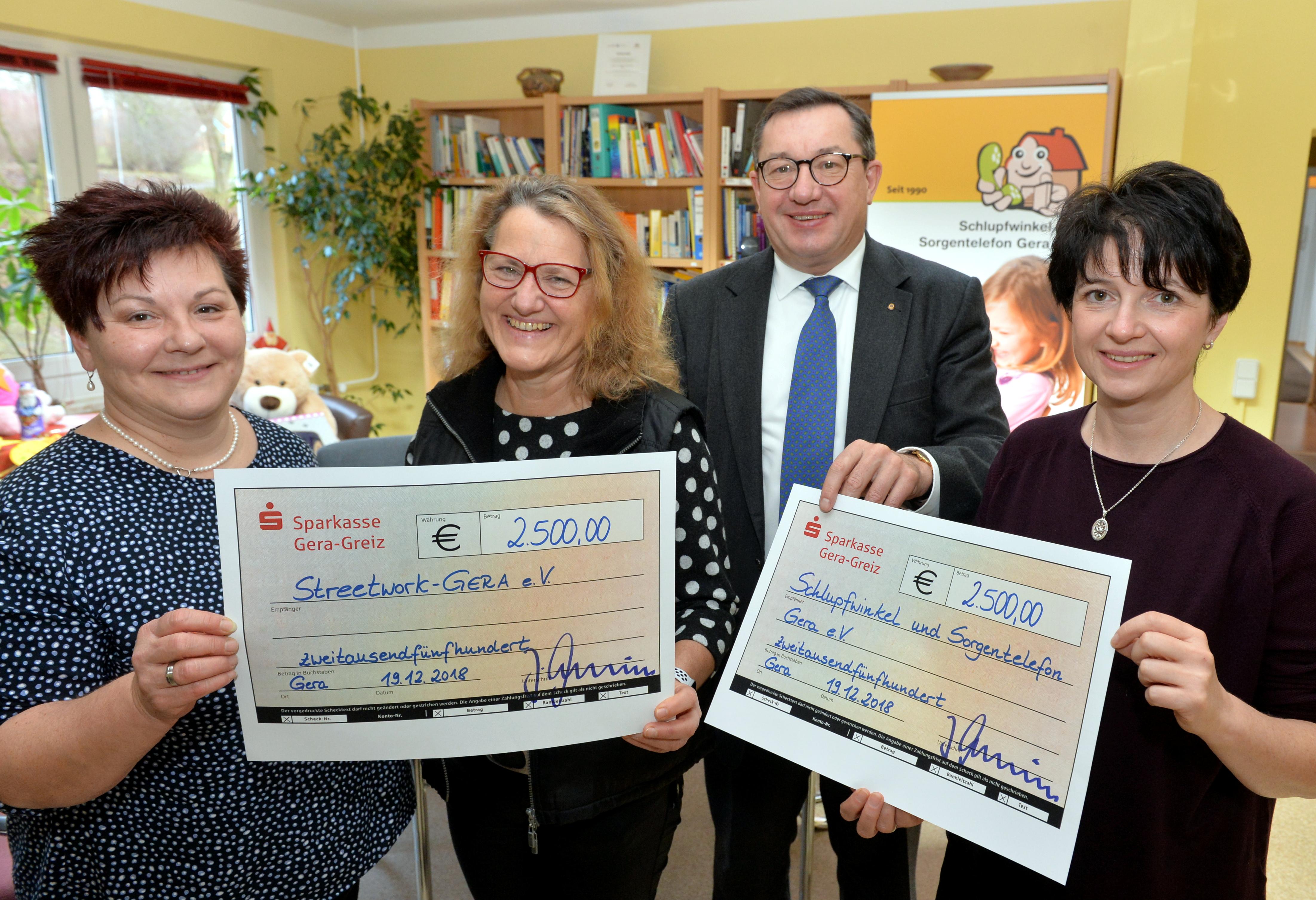 Die DMS Gruppe unterstüzt soziale Projekte mit Spenden