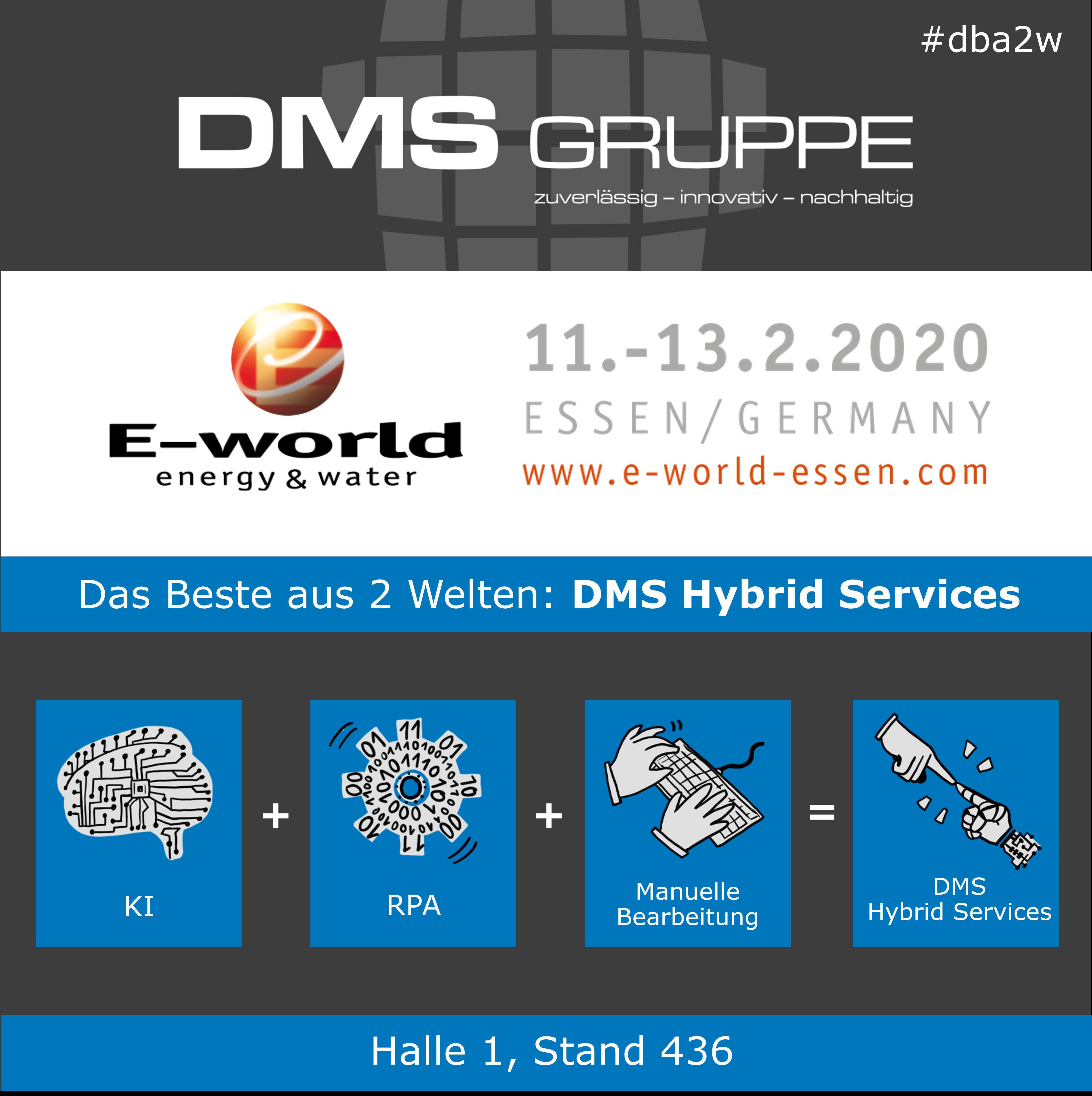 DMS @ E-world 2020