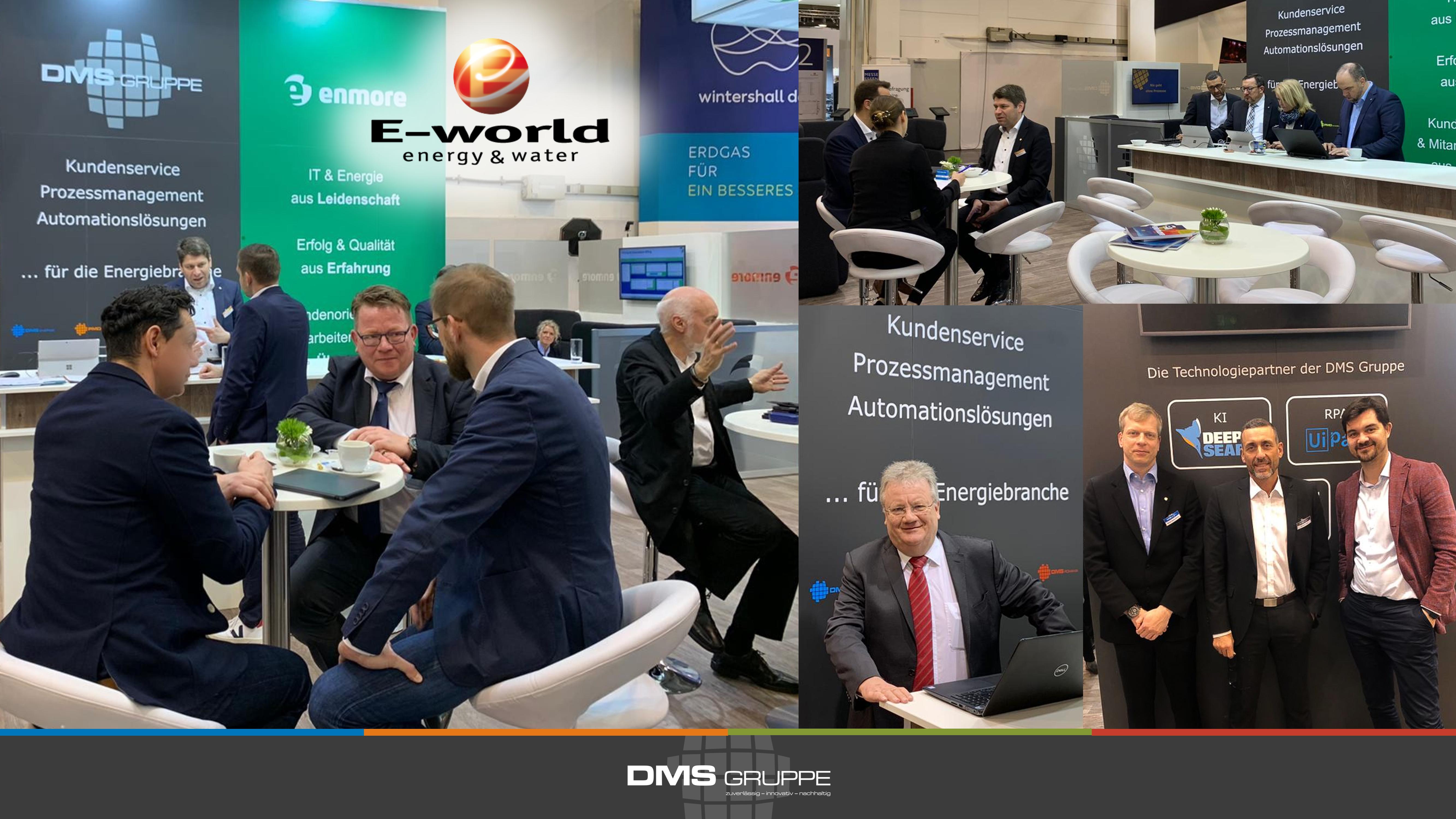 DMS Gruppe @ E-world 2020: Rückblick