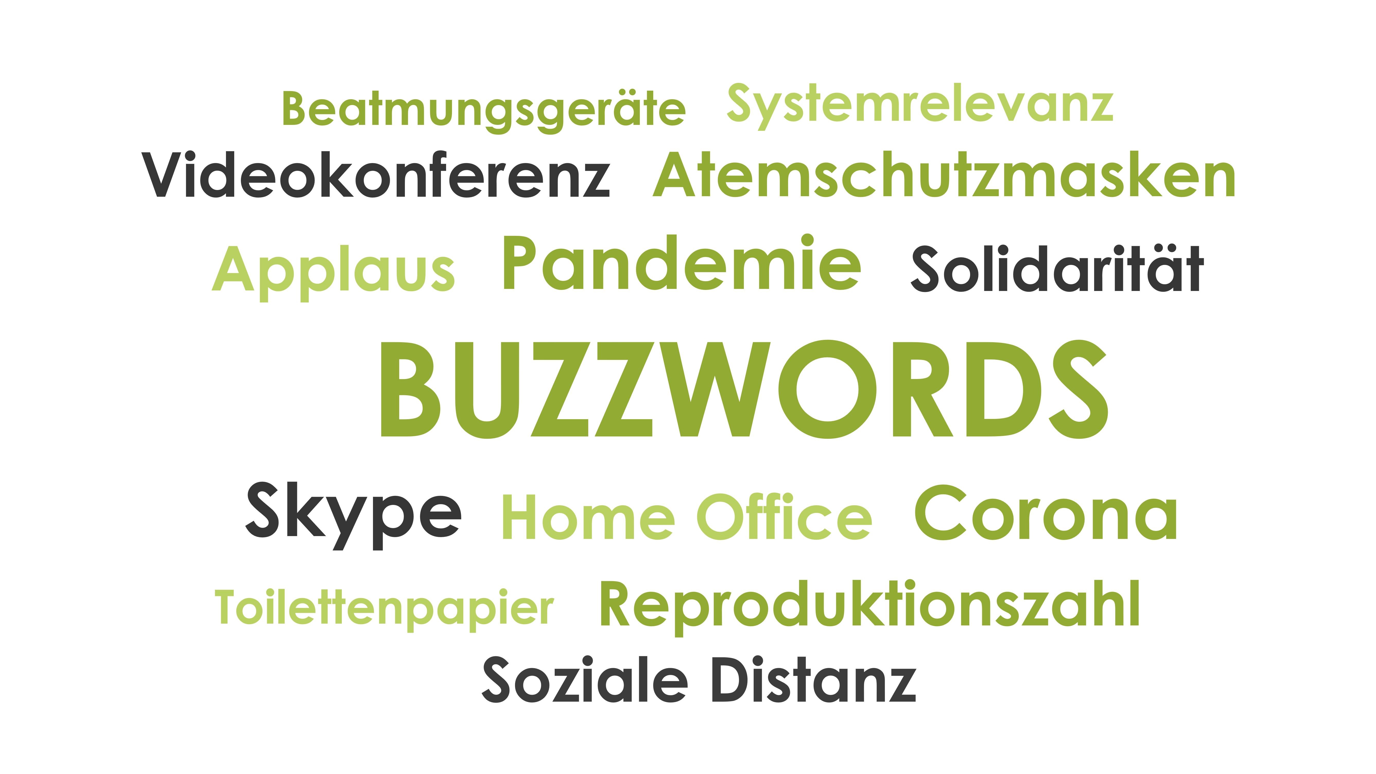 Es sind nicht immer die Buzzwords, die uns beeinflussen …